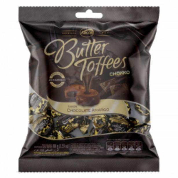 Oferta de Bala Arcor Butter Toffees Caramelo E Chokko Chocolate Amargo Pacote 100g por R$4,99
