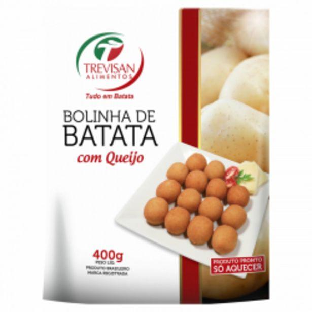 Oferta de Bolinha De Batata Congelada Queijo Trevisan Alimentos Pacote 400g por R$13,98