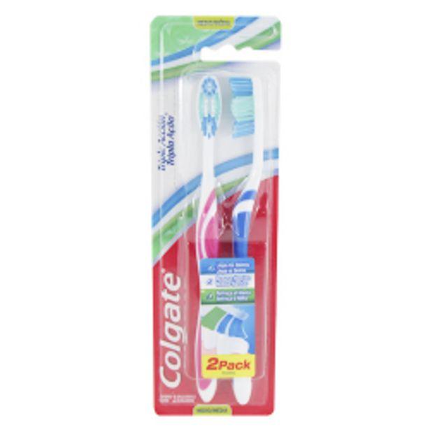 Oferta de Escova Dental Colgate Tripla Ação Média Lv2 Pg1 por R$15,39