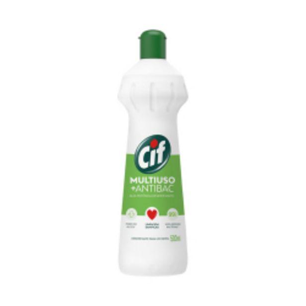 Oferta de Desinfetante Cif Multiuso +antibac Squeeze 500ml por R$5,29