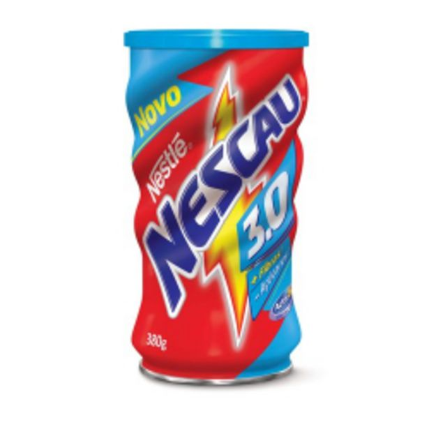 Oferta de Achocolatado Em Pó Nescau 3.0 380g por R$7,69