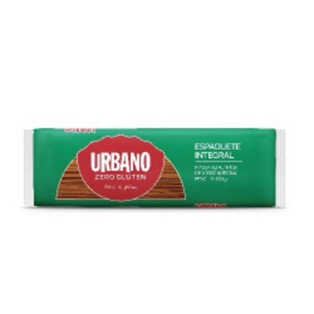 Oferta de Macarrão Urbano 500g Arroz Integral Espaguete por R$8,59