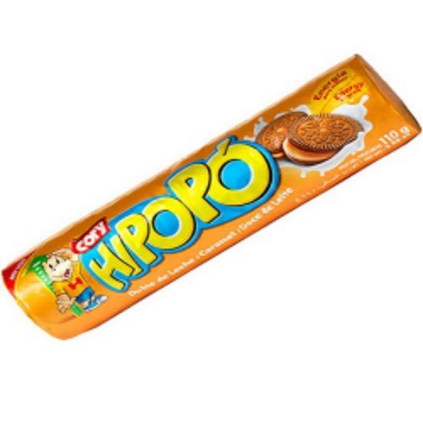 Oferta de Biscoito Recheado Hipopo Doce De Leite 110gr por R$1,69