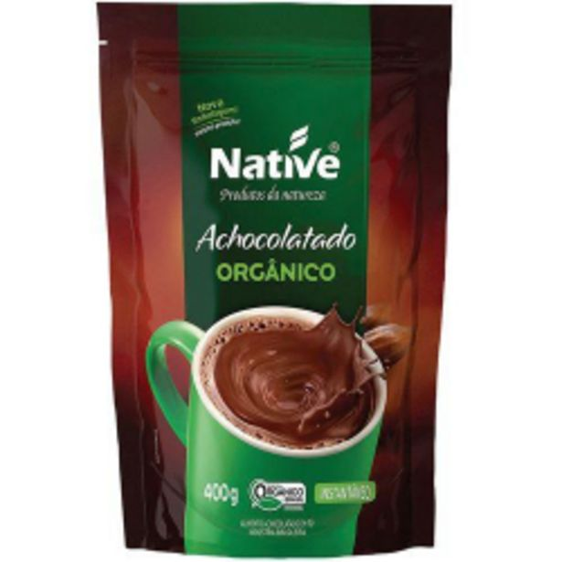 Oferta de Achocolatado Em Pó Native 400gr Pouch Orgânico por R$13,79