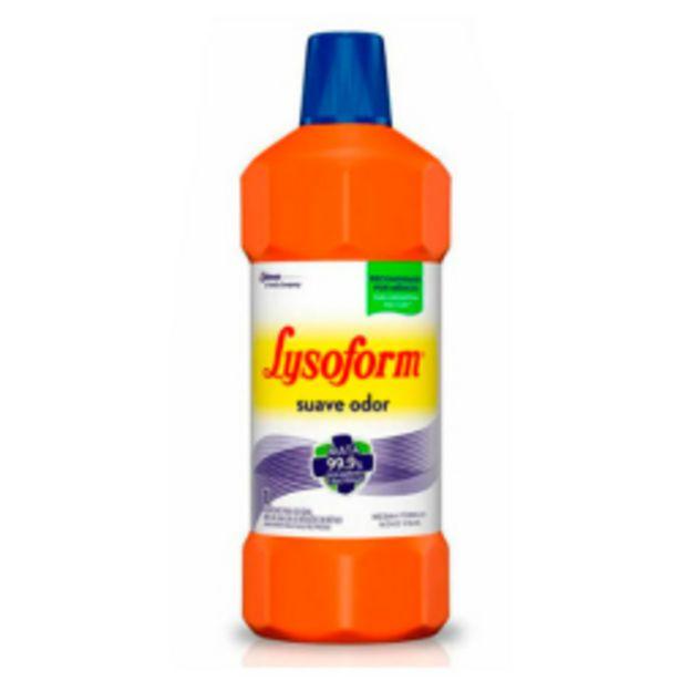 Oferta de Desinfetante Lysoform Bruto Suave 1l por R$13,39