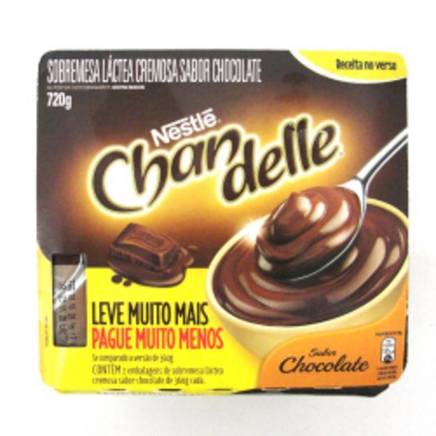Oferta de Sobremesa Chandelle Chocolate Leve 08 Pague 07 720g por R$17,9