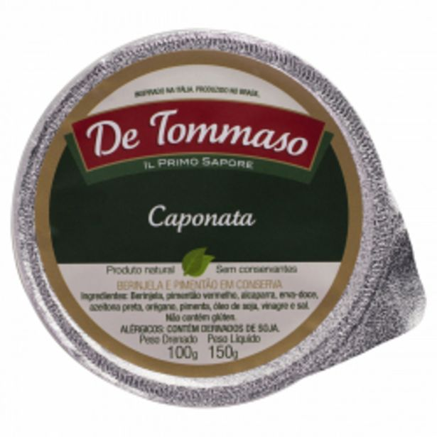 Oferta de Caponata De Tommaso 150g por R$18,98