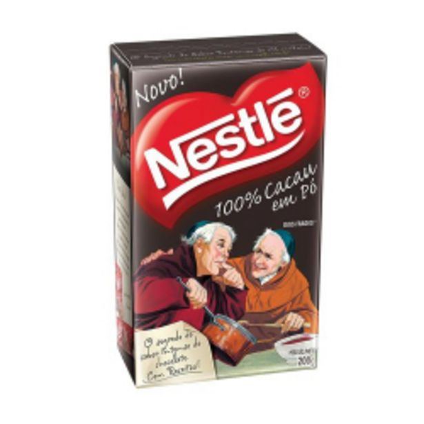 Oferta de Cacau Em Pó Nestlé Dois Frades 100% Cacau 200g por R$24,9
