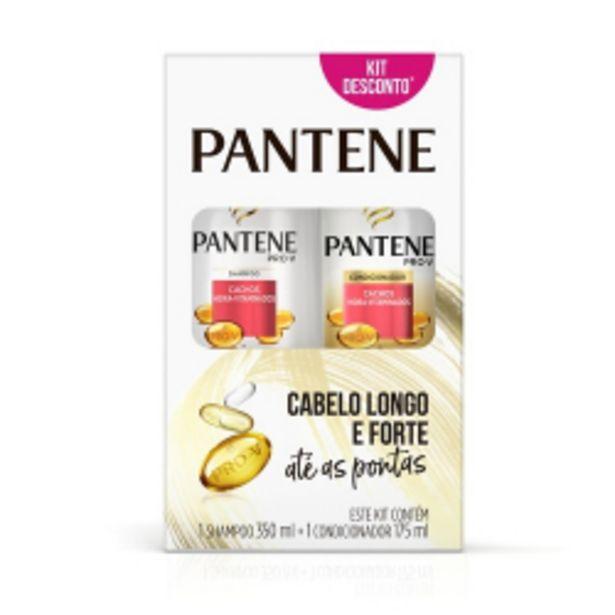 Oferta de Conjunto Pantene Cachos Shampo 350ml + Condicionador 175ml por R$29,98