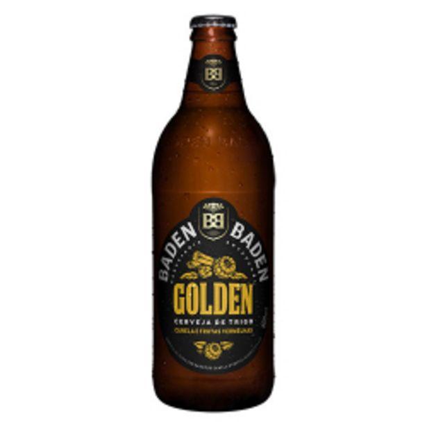 Oferta de Cerveja Baden Baden Golden Ale 600ml por R$11,98