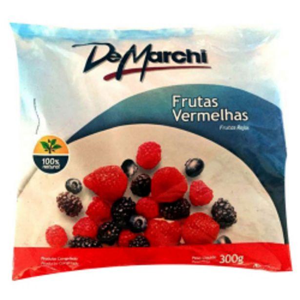 Oferta de Frutas Congeladas Demarchi Frutas Vermelhas 300g por R$11,98