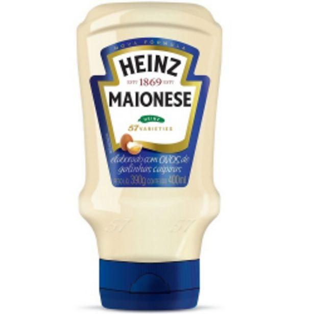 Oferta de Maionese Heinz Tradicional 400g por R$12,98