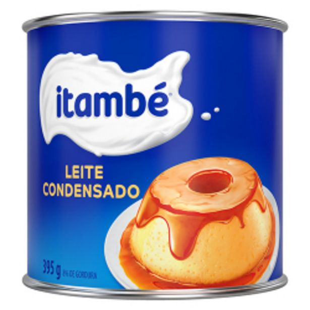 Oferta de Leite Condensado Itambé Lata 395g por R$6,79
