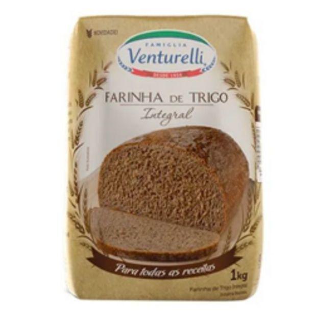 Oferta de Farinha De Trigo Venturelli Integral 1kg por R$5,39