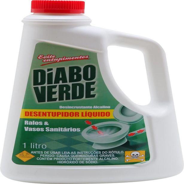 Oferta de Desentupidor Sanitário Diabo Verde 1 L por R$34,9