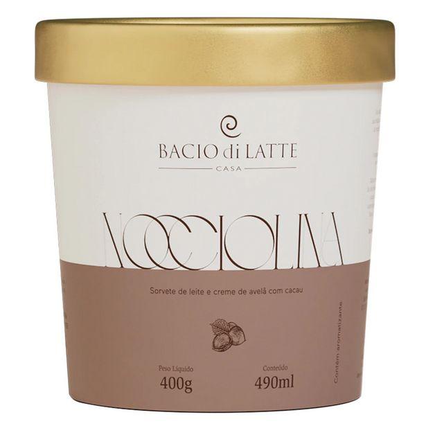 Oferta de Sorvete Bacio Di Latte Nocciolina 490ml por R$39,9