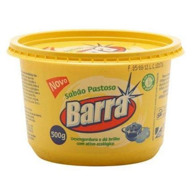 Oferta de Sabão Pastoso Barra 500g por R$9,58