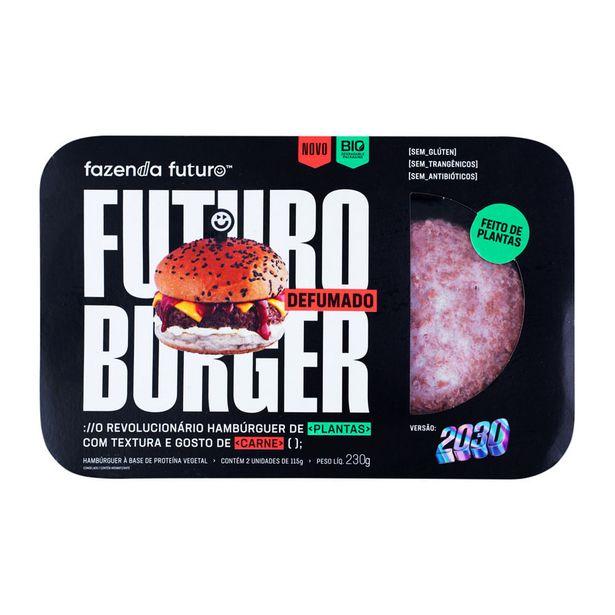 Oferta de Futuro Burger Defumado Fazenda Futuro 230g por R$16,9