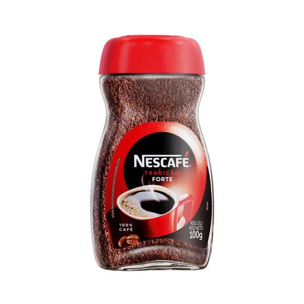Oferta de Café Solúvel Nescafé Tradição Vidro 100g por R$13,98