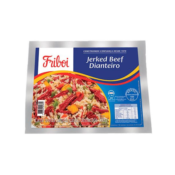 Oferta de Carne Seca Jerked Beef Dianteiro Friboi 500g por R$17,99