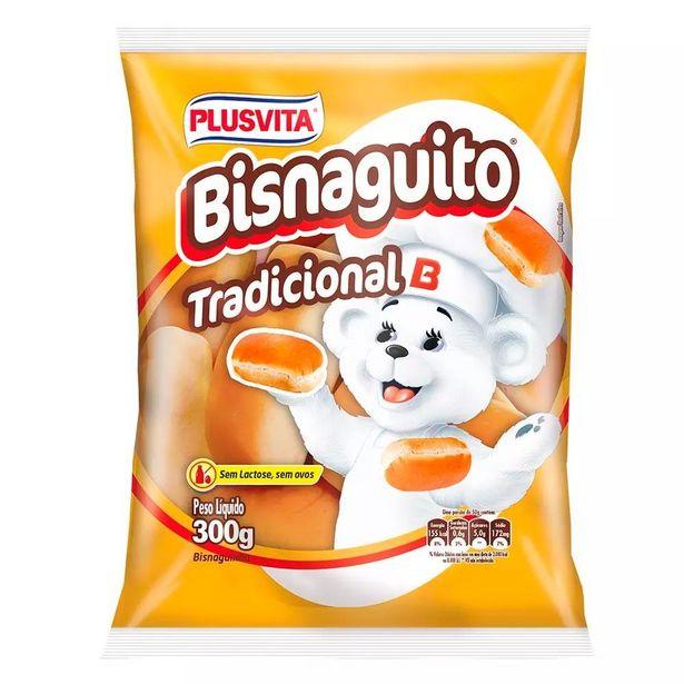 Oferta de Bisnaguinha Plusvita 300g por R$6,48