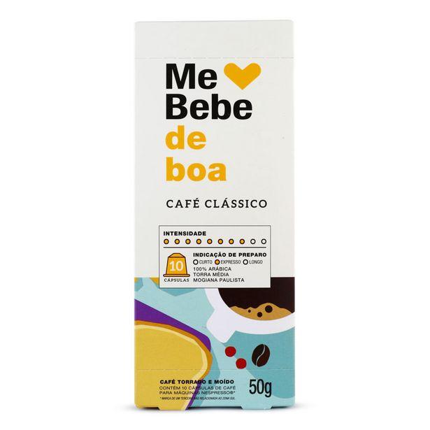 Oferta de Cápsulas de Café Me Bebe de Boa 50g por R$18,9