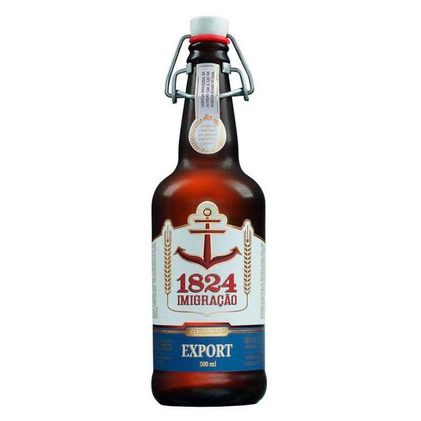 Oferta de Cerveja Bras Imigracao Export 500ml por R$13,9