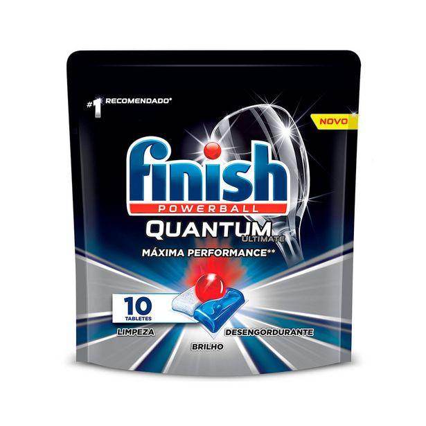 Oferta de Lava Louças Finish Quantum Powerball 125g por R$28,99