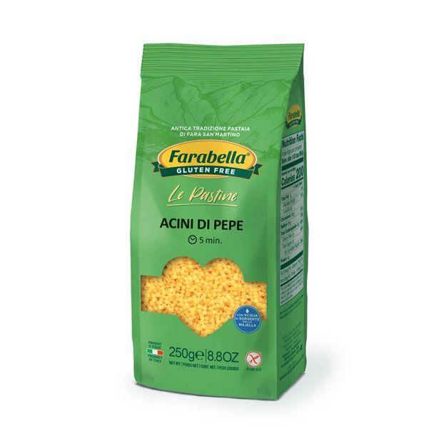 Oferta de Acini Di Pepe Sem Glúten Sem Lactose Italiano Farabella 250g por R$9,9