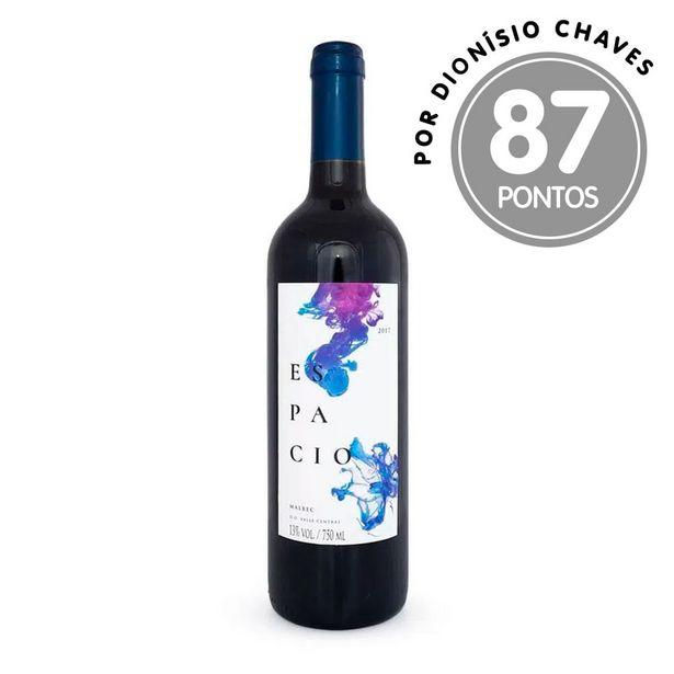 Oferta de Vinho Tinto Espacio Malbec Garrafa 750ml por R$36,9