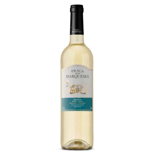 Oferta de Vinho Branco Português Praça dos Marqueses Garrafa 750mL por R$29,97