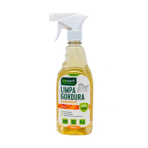Oferta de Desengordurante Gatilho Biodegradável BioWash Citrus  650 mL por R$21,99