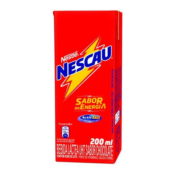 Oferta de Achocolatado Pronto Nescau Tetra Pak 200mL por R$1,89