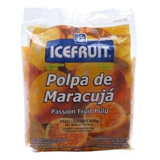 Oferta de Polpa Congelada Icefruit Maracujá Pacote com 4 Unidades 100g cada por R$11,99