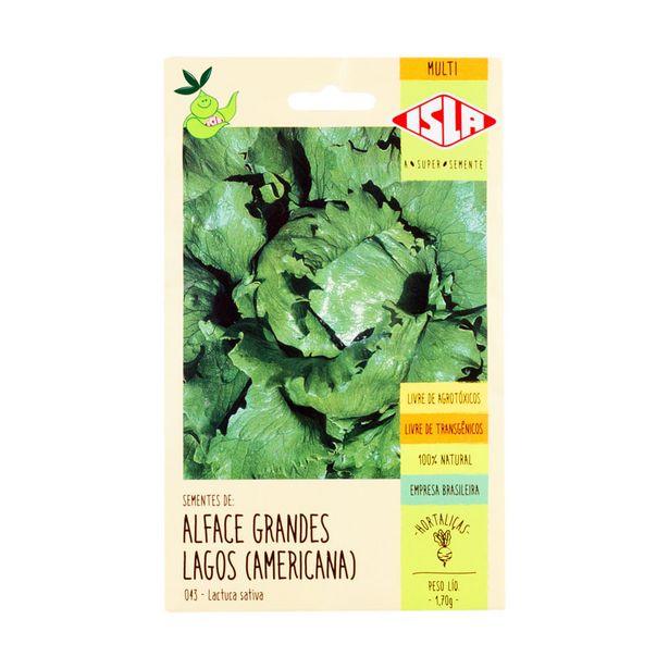 Oferta de Sementes de Alface Americana Isla 1,70g por R$3,49