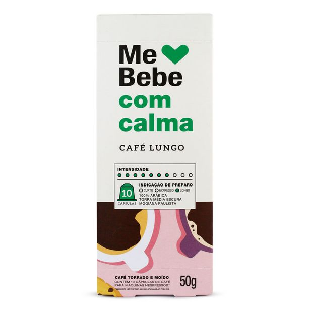 Oferta de Cápsulas de Café Me Bebe com Calma 50g por R$18,9