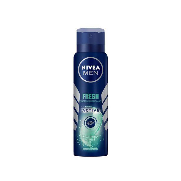 Oferta de Desodorante Antitranspirante Aerosol NIVEA MEN Dry Fresh 150ml por R$11,49