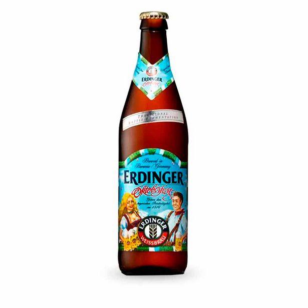 Oferta de Cerveja Alemã Erdinger Oktoberfest Garrafa 500ml por R$19,9