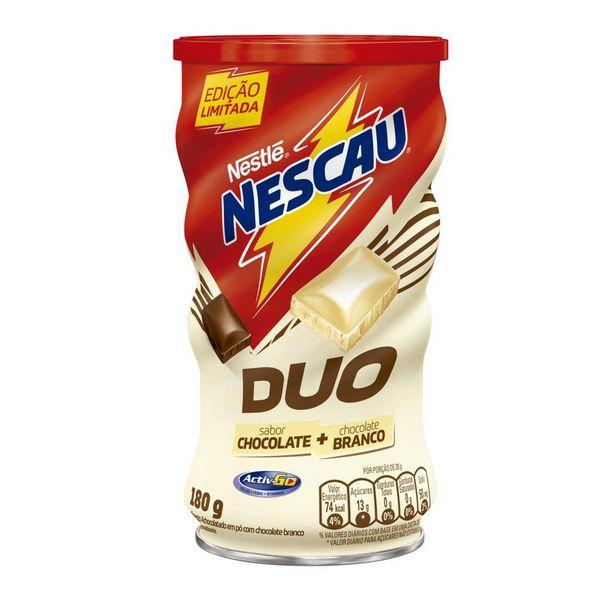 Oferta de Achocolatado em Pó Nescau Duo Lata 180g por R$5,98