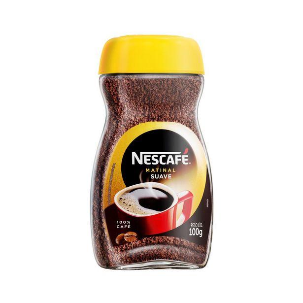 Oferta de Café Solúvel Nescafé Matinal Vidro 100g por R$13,98