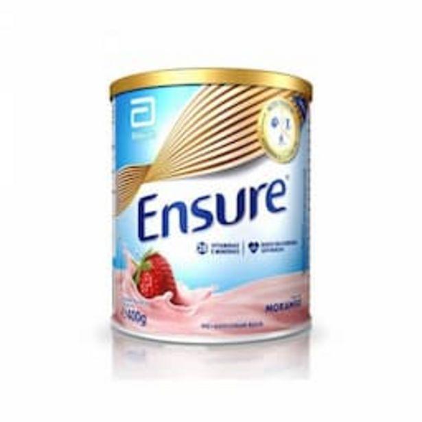 Oferta de Suplemento Nutricional Ensure Morango 400g por R$67,99