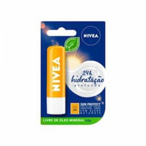 Oferta de Protetor Solar Labial Hidratante Nivea Sun Protect FPS 30 com 4,8g por R$21,99