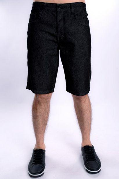 Oferta de Bermuda Jeans Masculina Escura por R$79,99