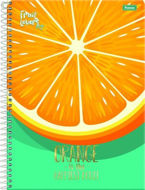 Oferta de Caderno Fruit Lovers 10 Matérias 200fls Não se Aplica por R$29,99