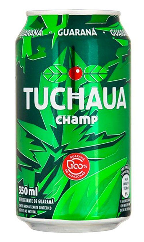 Oferta de REFRIGERANTE GUARANÁ TUCHAUA CHAMP 350ML LT por R$1,49