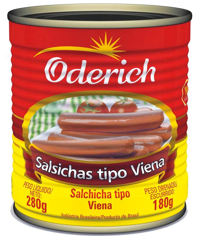 Oferta de SALSICHAS ODERICH TIPO VIENA 180G por R$2,99
