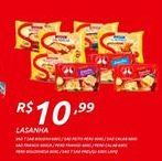 Oferta de Lasanha por R$10,99