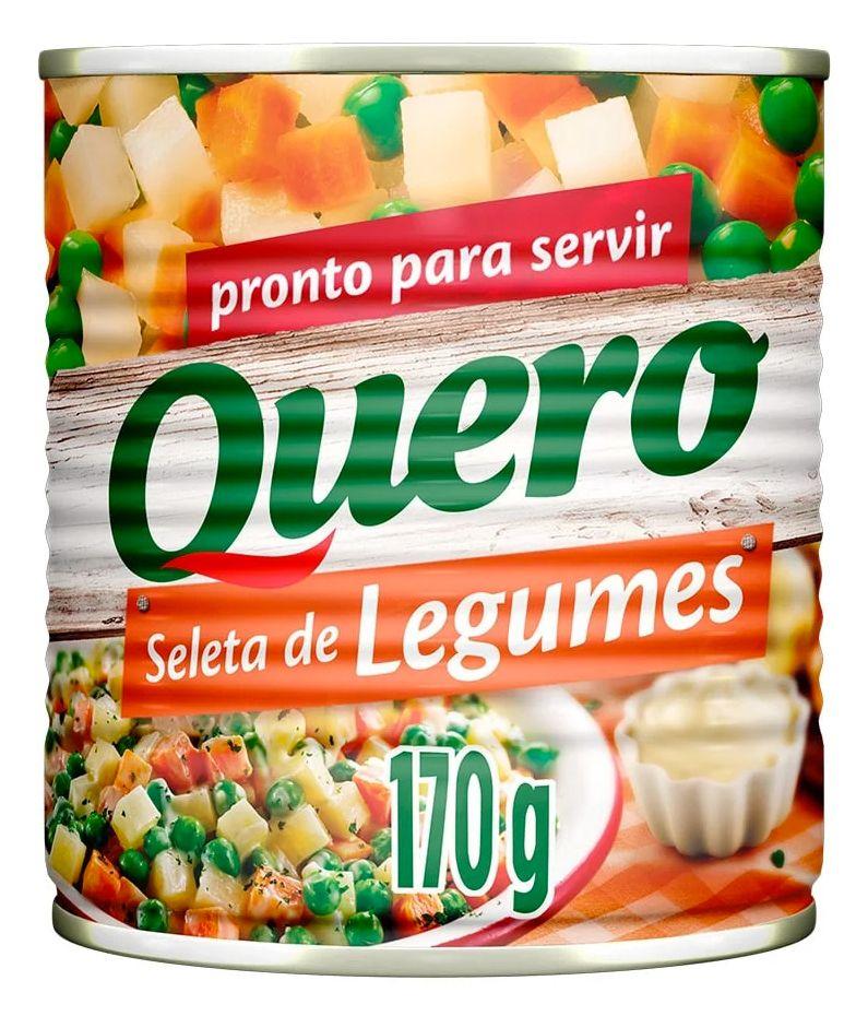 Oferta de SELETA DE LEGUMES QUERO 170G LT por R$2,29