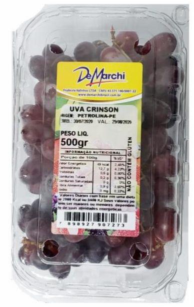 Oferta de Uva crinson vermelha De Marchi 500g por R$4,98