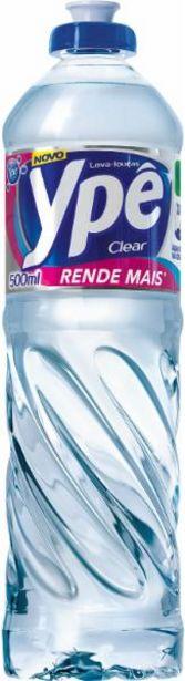 Oferta de Detergente líquido Ypê clear 500mL por R$2,19